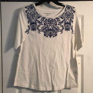 NEW Croft & Barrow t shirt